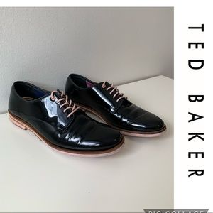 Ted Baker Loomi Oxford Shoes Size 6 Leather loafer